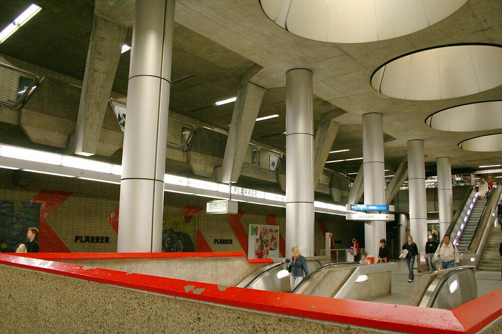 Nürnberger U-Bahnhof Plärrer