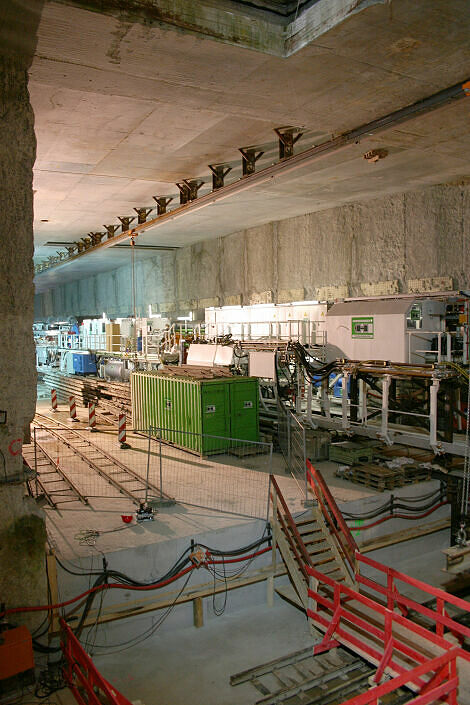 Blick in den Moosacher Tunnel